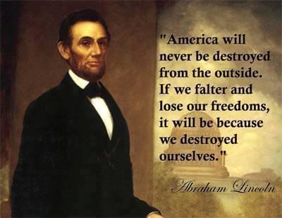 abraham-lincoln-quote-about-americas-destruction